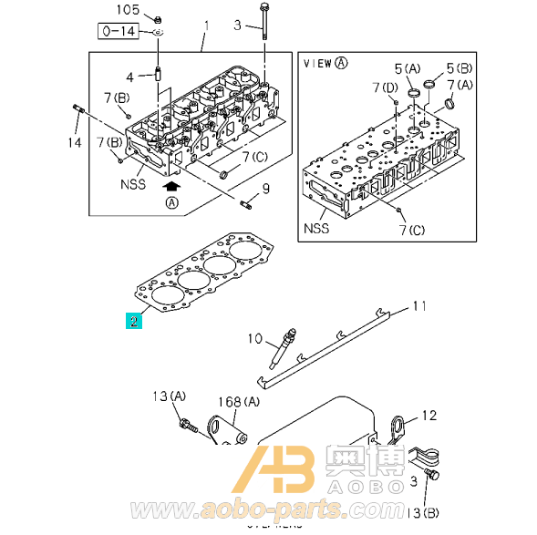 isuzu hitachi bobcat genuine parts